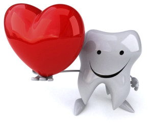 heart and teeth